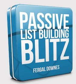passive list building blitz